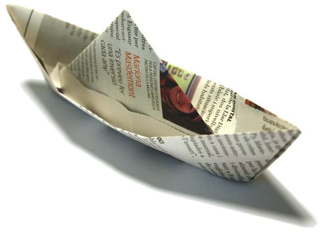 Paper sailboat - fearfuladventurer.com